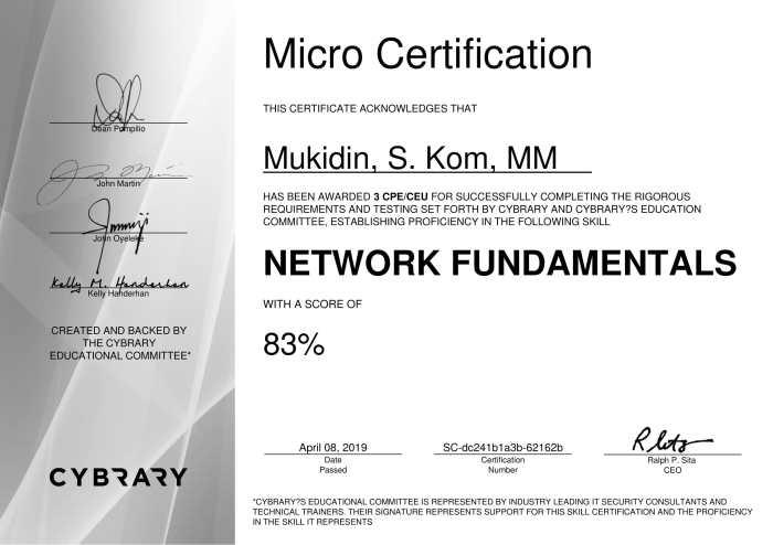 cybrary-cert-network-fundamental-1